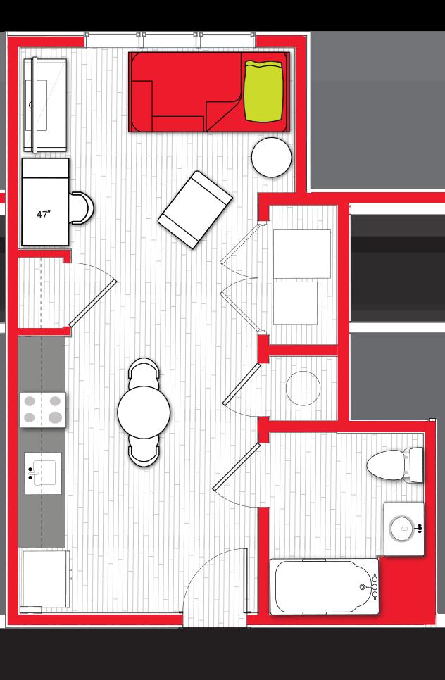 Stanhope Apartments floor plan s10