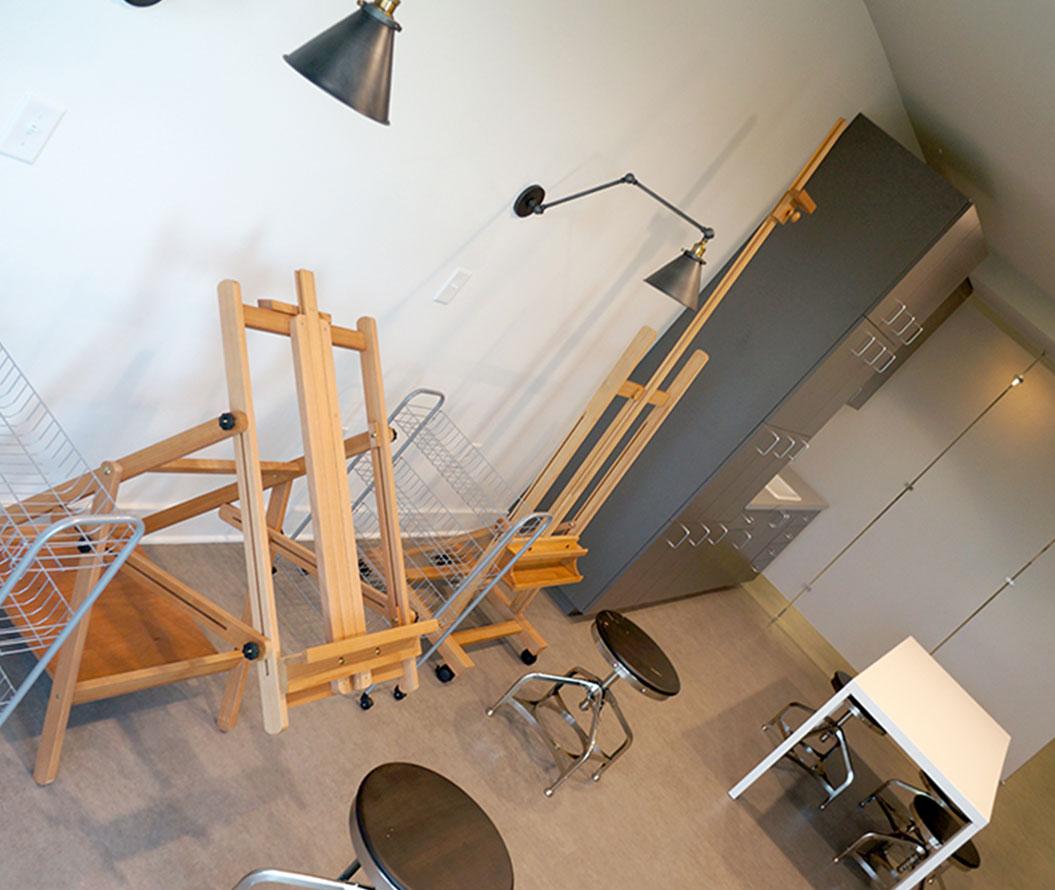 Stanhope Apartments art studio