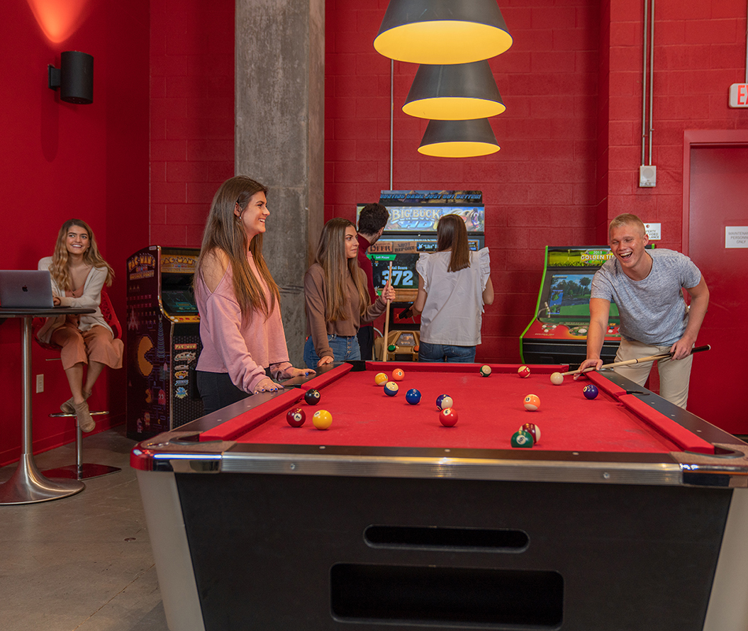 Stanhope Student Apartments - Game Room