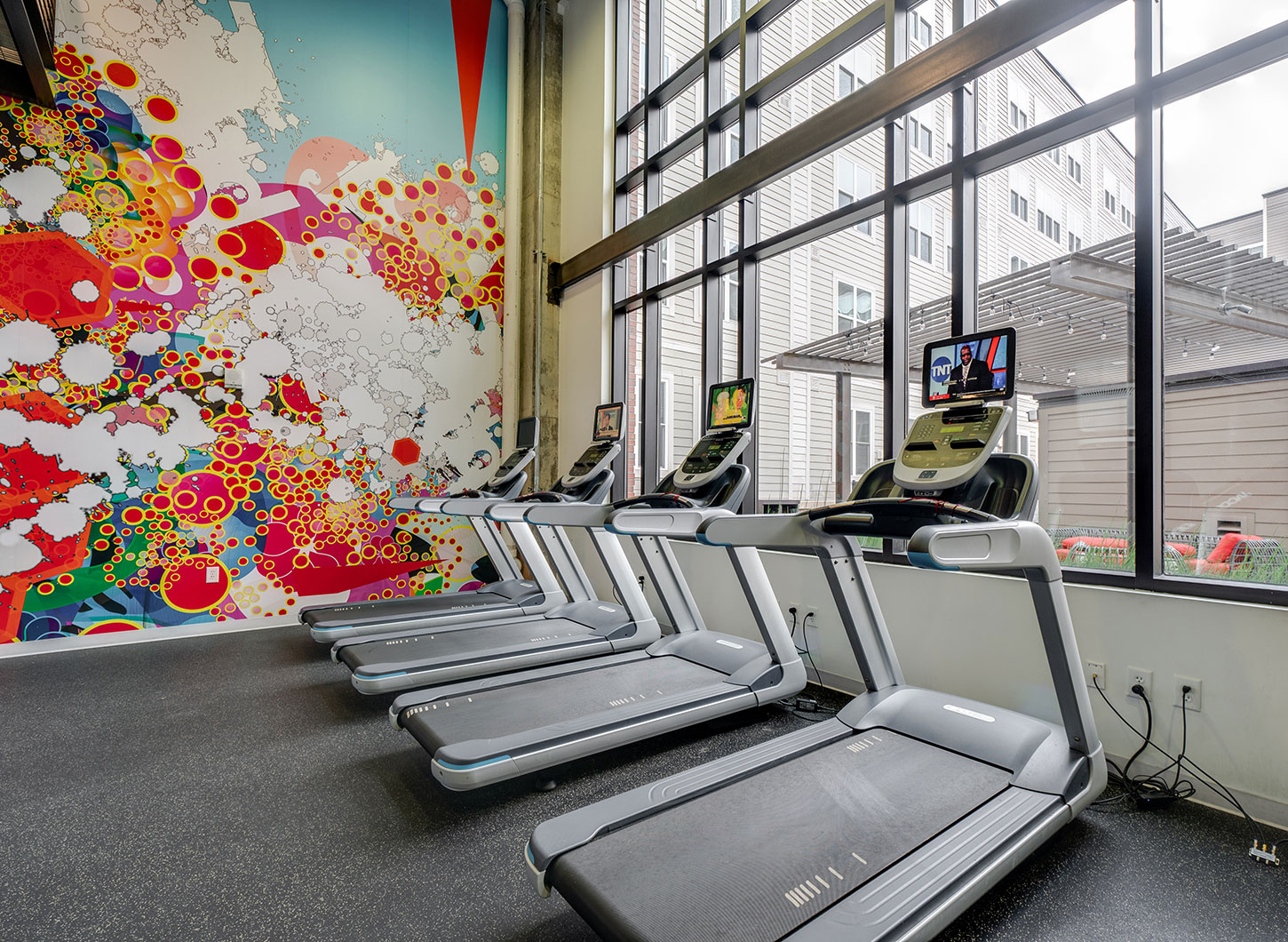 Stanhope Apartments fitness center