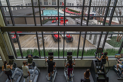 Stanhope Student Apartments fitness center